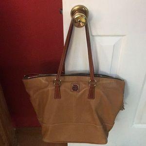 Dooney & Bourke British Tan Leather Bag